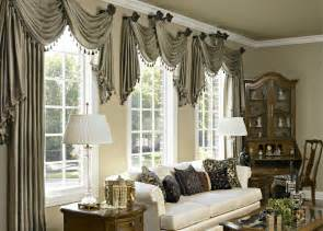 Window Treatment Ideas For Large Windows by Chic White Window Curtain Idea Plus Valentineblog Net