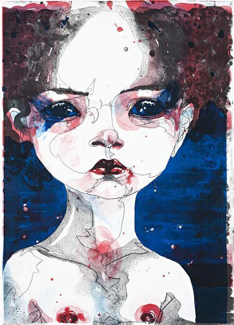 Del Kathryn Barton Artwork by Prints Amp Graphics Del Kathryn Barton Australian Art