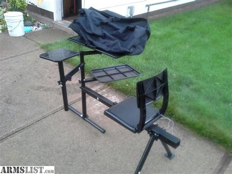 portable shooting bench armslist for sale portable shooting bench