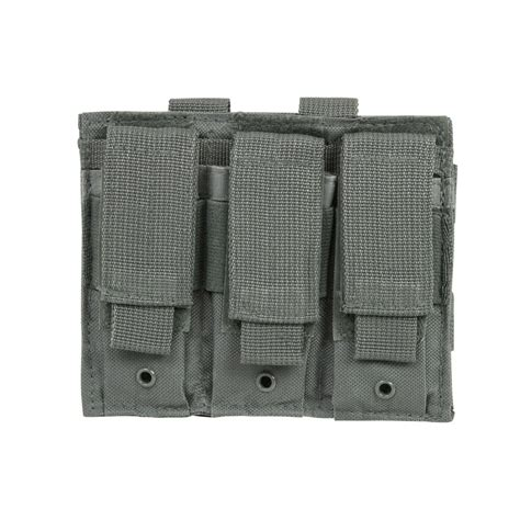 Pch Urban - triple pistol mag pouch urban gray