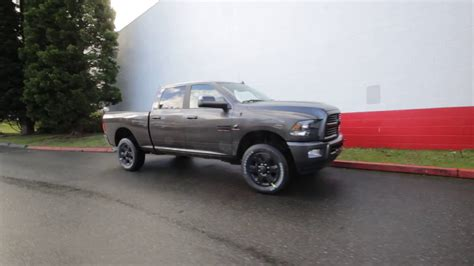 2017 Ram 2500 Big Horn Crew Cab 4x4   Granite Crystal