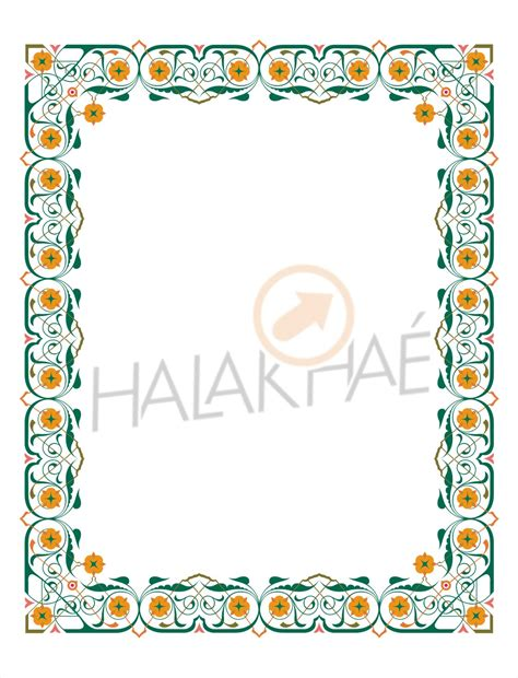 Wedding Border Coreldraw by Wedding Program Border Microsoft Word Studio Design