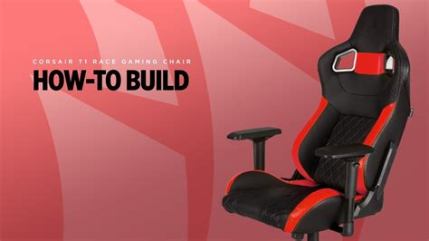 How To Make Chairs - t1 race gaming chair how to build