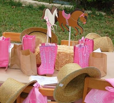 horse themed events cowgirl western horse themed 5th birthday party birthday