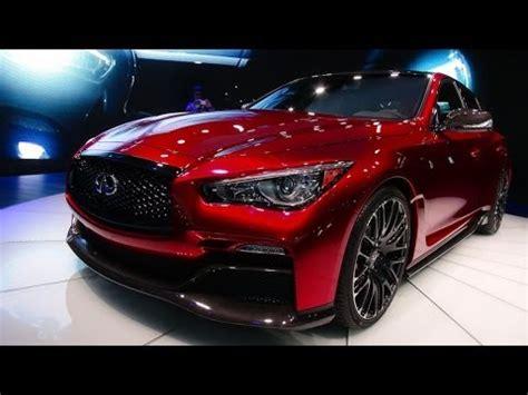 infiniti eau rouge concept sports car debut