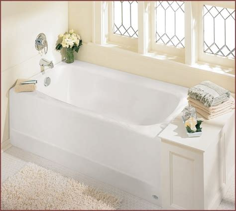 4 Ft Bathtub Shower Combo small corner bathtub shower combo home design ideas
