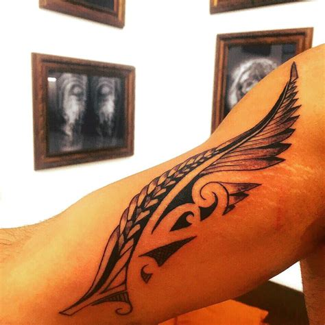 mauri tattoo design feather tattooideas maori maoric