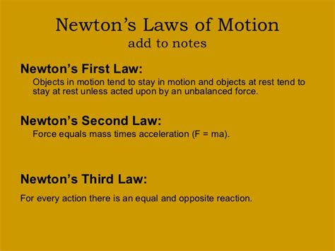 isaac newton biography laws of motion mr holder s science lab 7th grade life science 8th