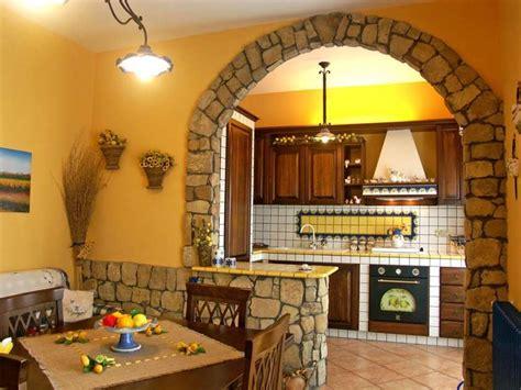 interni di rustiche cucine in muratura le idee migliori per la tua casa