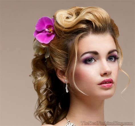 Half Pinned Hairstyles by Goddess Hairstyles Pinned Half Updos Hair