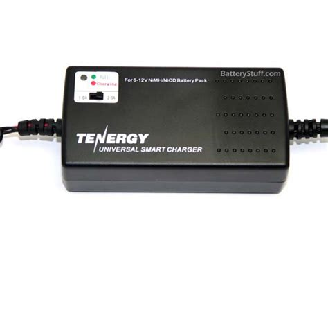 tenergy smart charger tenergy smart universal charger for nimh nicd battery