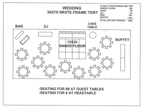 tent layout template 18 best wedding floor plans images on pinterest wedding
