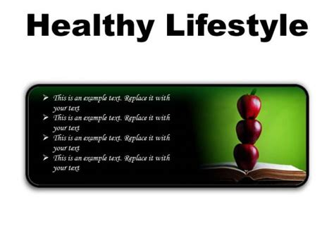 powerpoint templates free download healthy lifestyle healthy lifestyle powerpoint presentation healthy
