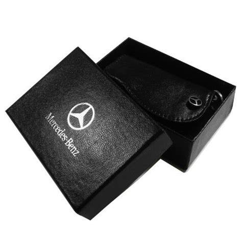 mercedes leather key cover genuine product import
