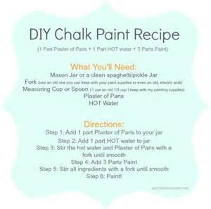 diy chalk paint recipe upcycled treasures