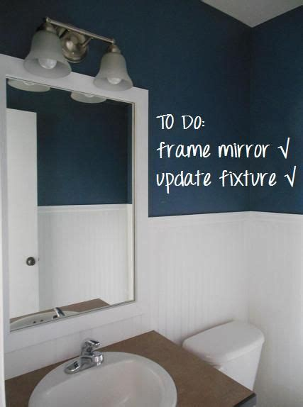 easy diy mirror frame and lowes light fixture decorating 188 best images about for the home on pinterest framing
