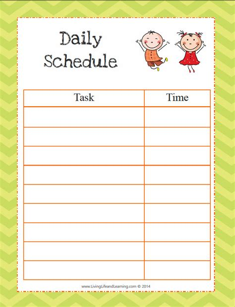 printable toddler routine why do toddlers need a routine