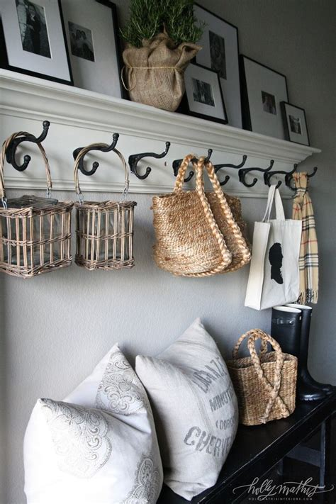 Coat Hooks With Shelf Above by 17 Best Ideas About Entryway Coat Hooks On