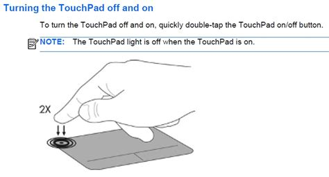 solved what is the orange light on my touchpad pointer not workin page 2 hp support