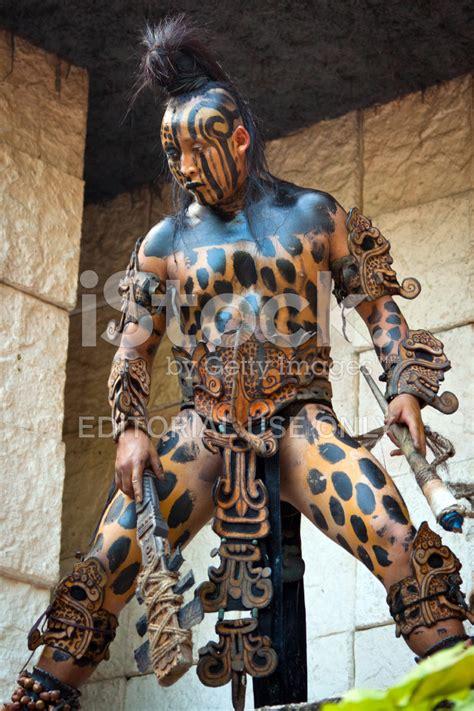 mayan jaguar warrior mayan warrior stock photos freeimages