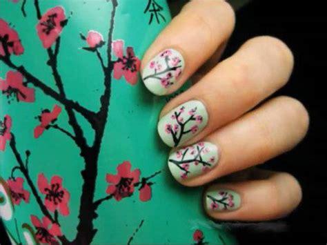 nail tutorial fiori nail tutorial fiori di ciliegio sologossip it