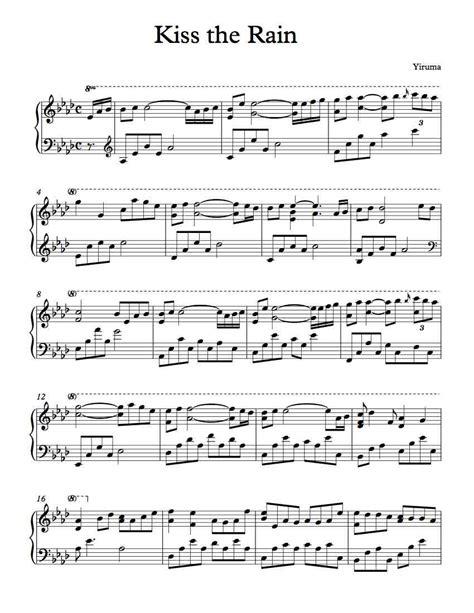 tutorial keyboard kiss the rain kiss the rain piano tutorial gallery any tutorial exles