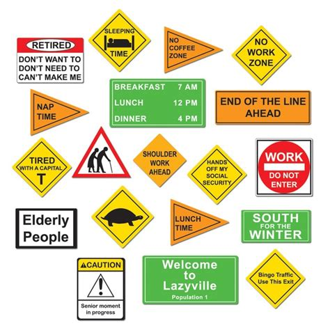 printable retirement road signs 1000 images about marce on pinterest retirement parties
