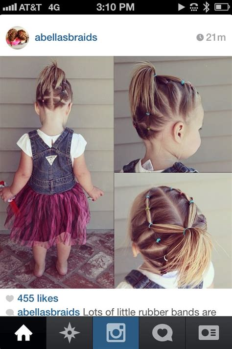tubber band connect styles pin by sunshine mohammadbhoy on hair for the girls pinterest