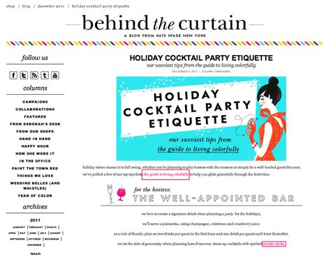 cocktail etiquette content marketing 5 easy tips exles heidi