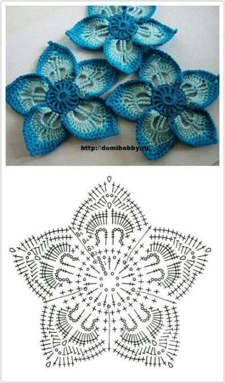 tutorial rajut bentuk love rajut handmade share pola aneka pola bunga rajut