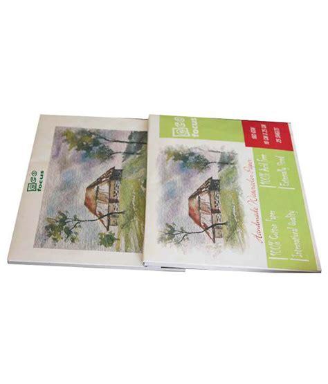 Handmade Watercolour Paper - ecofocus handmade watercolour paper pads or blocks buy
