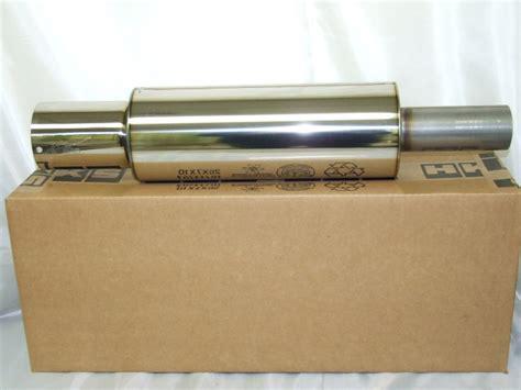 Buntut Knalpot Muffler Hks Universal hks hi power universal exhaust muffler 3203 ex023 ebay