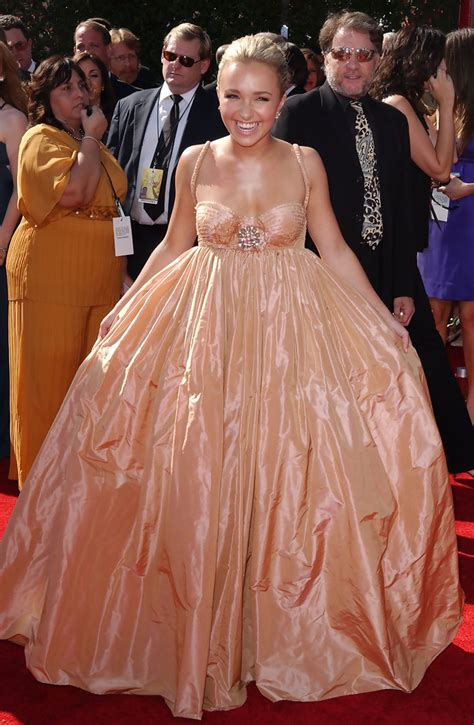 59th Emmy Awards Carpet Hayden Panettiere by Hayden Panettiere 2007 Emmy Awards The Most Gorgeous
