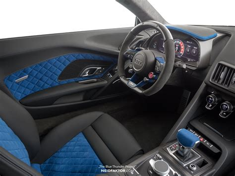 interior blue audi r8 v10 plus quot blue thunder quot interior by neidfaktor