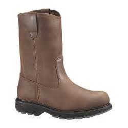 wolverine 10 quot wellington slip resistant boot