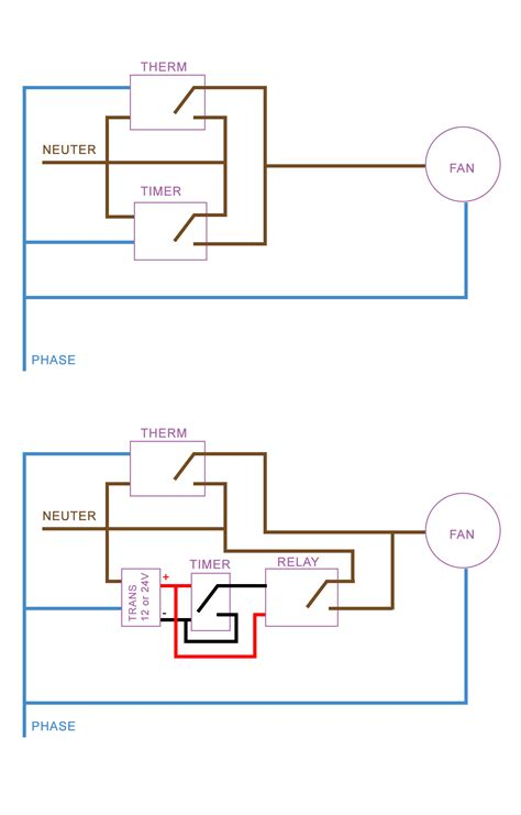 100 wiring diagram for extractor fan with timer how