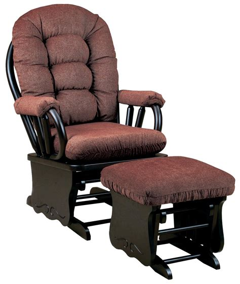 rocking chair and ottoman best home furnishings bedazzle locking glider rocker and
