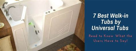 walk in bathtub review universal walk in tubs reviews 7 best universal tubs you