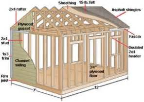 harsley 8 x 10 shed plans