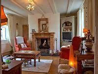 Cottage Cheese Ireland by Traditional Connemara Living Room With Fireplace At The