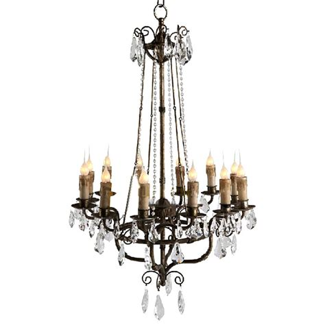 Country Chandelier Antique Country Metal And Chandelier 9843 Browse