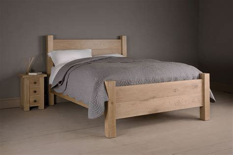 the miller s oak bed handcrafted by indigo furniture