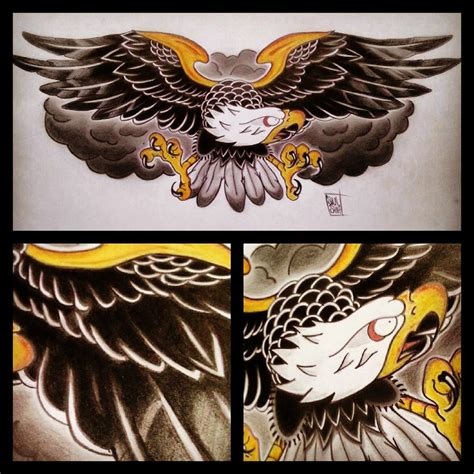 traditional eagle tattoo tattoo collections