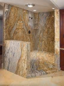 the shower consists of 6 of those 10 yellow river granite