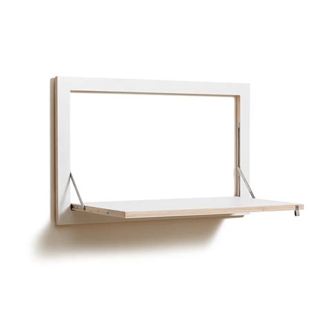 folding desk buy ambivalenz flapps folding wall desk white amara