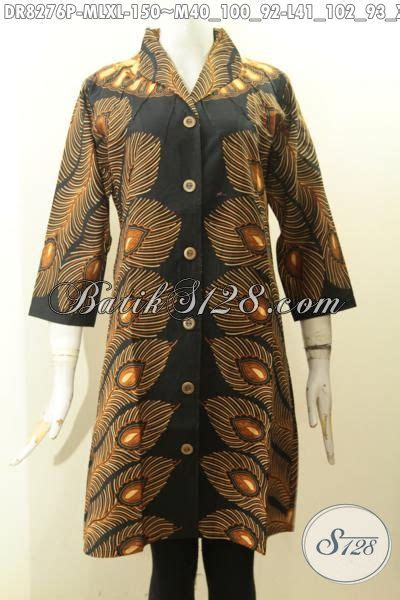 Model Langsung model baju batik wanita terkini batik dress keren krah