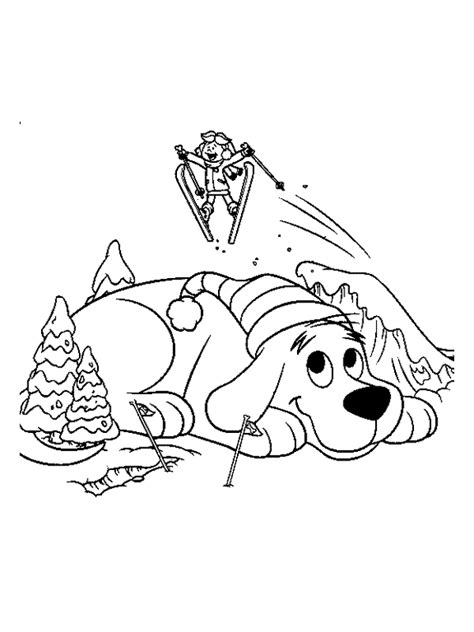 Clifford Coloring Pages Coloringpages1001 Com Clifford Coloring Pages