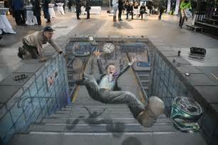 Octagon Outdoor Rug 3d Chalk Drawings That Will Trick Your Eyes