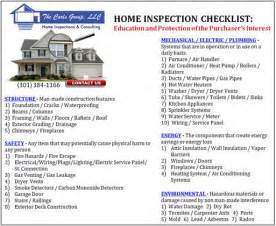 home inspection checklist to do list template