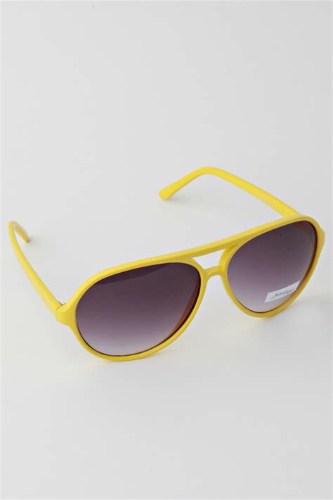yellow sunglasses jeepers peepers oscar yellow sunglasses impericon